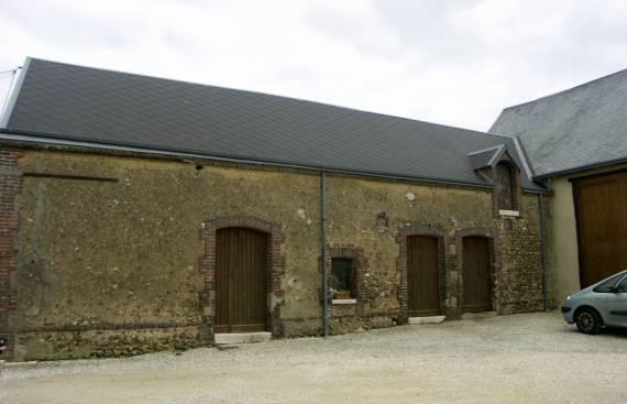 Reconversion d'une grange en gîte et chambres d'hôtes à Ermenonville La Petite 1_1