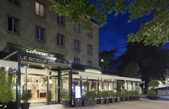 Extension et réhabilitation de l'Amphitryon à Chartres 1_2