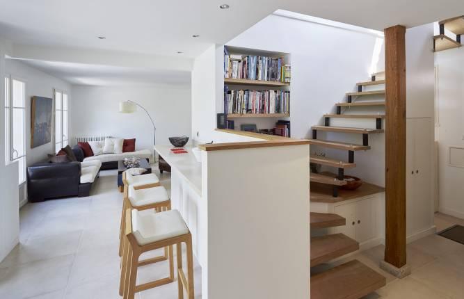 L'escalier: l'élément structurant de la maison